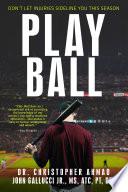 Play Ball Book