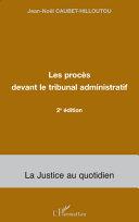 Les procès devant le tribunal administratif