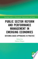 Public Sector Reform And Performance Management In Emerging Economies