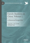 Family Business in China  Volume 1