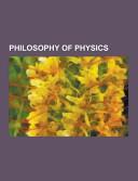 Philosophy Of Physics Book PDF