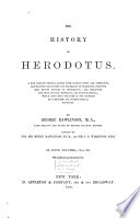 The history of Herodotus, History
