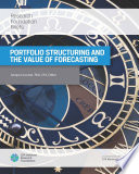 Portfolio Structuring and the Value of Forecasting Book