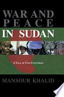 War   Peace In The Sudan
