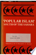 Popular Islam South Of The Sahara