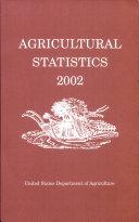 Agricultural Statistics, 2002 (Paperback) ebook