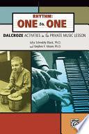 Rhythm  One on One