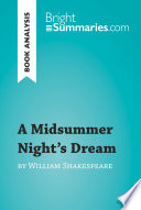 A Midsummer Night s Dream by William Shakespeare  Book Analysis
