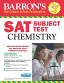 Barron s SAT Subject Test  Chemistry with CD ROM  13th Edition Book