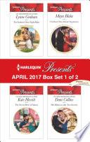 Harlequin Presents April 2017 Box Set 1 Of 2