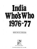 India Who S Who