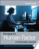Managing the Human Factor in Information Security Book