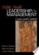 Public Health Leadership and Management
