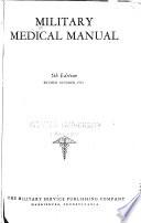 Military Medical Manual ...