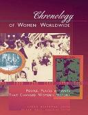 Chronology Of Women Worldwide
