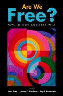 Pdf Are We Free? Psychology and Free Will Telecharger