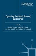 Opening the Black Box of Editorship Pdf/ePub eBook