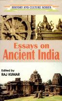 Essays on Ancient India