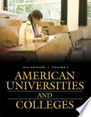 """""""American Universities and Colleges, 19th Edition [2 Volumes]: Nineteenth Edition"""" by Praeger"""