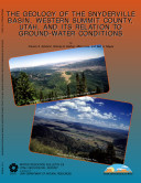 Pdf The Geology of the Snyderville Basin, Western Summit County, Utah, and Its Relation to Ground-water Conditions