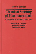 Chemical Stability of Pharmaceuticals