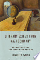 Literary Exiles from Nazi Germany
