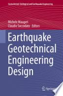 Earthquake Geotechnical Engineering Design