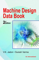 Machine Design Data Book   Second Edition