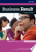 Business Result 2E Advanced Student s Book Book