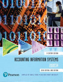 Cover of Accounting Information Systems 200534 (Custom Edition)