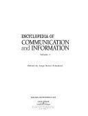 Encyclopedia of Communication and Information  Aca Fun