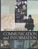 Encyclopedia of Communication and Information  Aca Fun