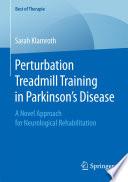 Perturbation Treadmill Training in Parkinson   s Disease