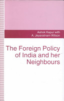 Foreign Policies Of India And Her Neighbours