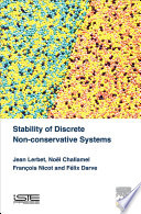 Stability of Discrete Non conservative Systems Book