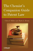 Pdf The Chemist's Companion Guide to Patent Law