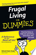 """Frugal Living For Dummies"" by Deborah Taylor-Hough"