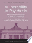 Vulnerability to Psychosis Book