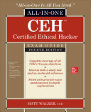 Cover of CEH Certified Ethical Hacker All-in-One Exam Guide, Fourth Edition
