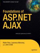 Foundations of ASP.NET AJAX Pdf/ePub eBook