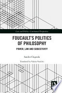 Foucault S Politics Of Philosophy