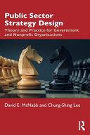 Public Sector Strategy Design
