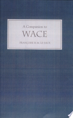 A Companion to Wace Free eBooks - Free Pdf Epub Online