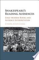 Shakespeare's Reading Audiences