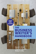 The Business Writer s Handbook with 2020 APA Update