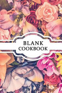 Blank Cookbook Book PDF