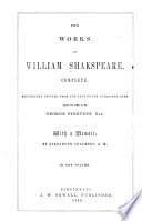 The Works of William Shakespeare  Complete Book PDF