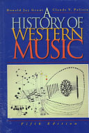 A History of Western Music