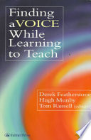 Finding a Voice While Learning to Teach