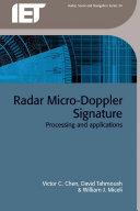 Radar Micro-Doppler Signatures